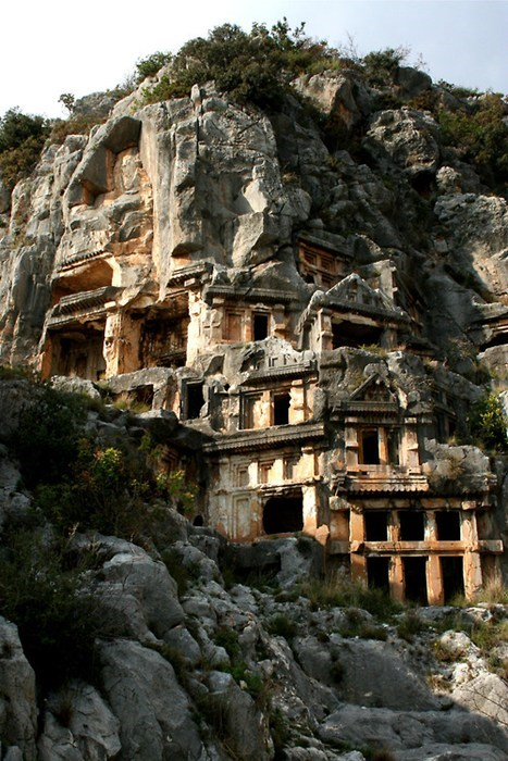 The Rock Tombs of Myra