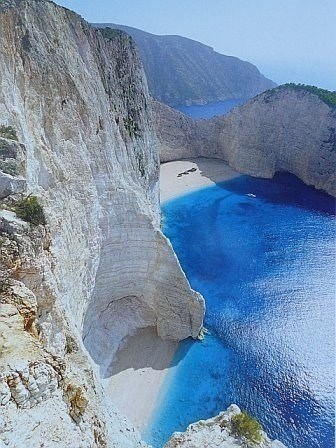 The White Cliffs of Mykonos, Greece