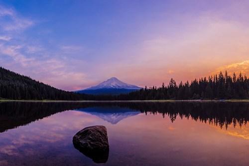 oregon,mt-hood,landscape,pretty colors,lake
