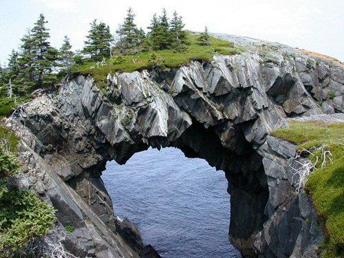 Still Wrapping My Head Around the Berry Head Arch, Newfoundland, Canada