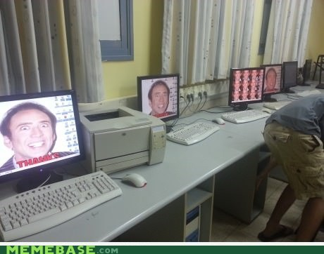 Computer Room at the School