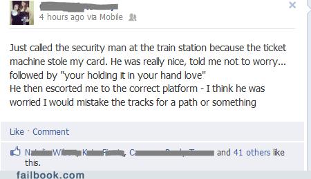 security,train tracks,keycard