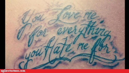 expression,love/hate