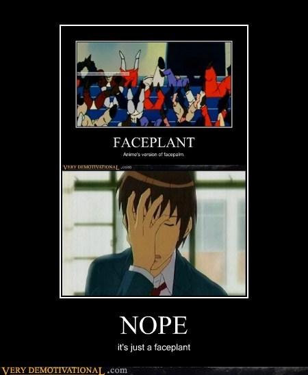 nope,facepalm,faceplant