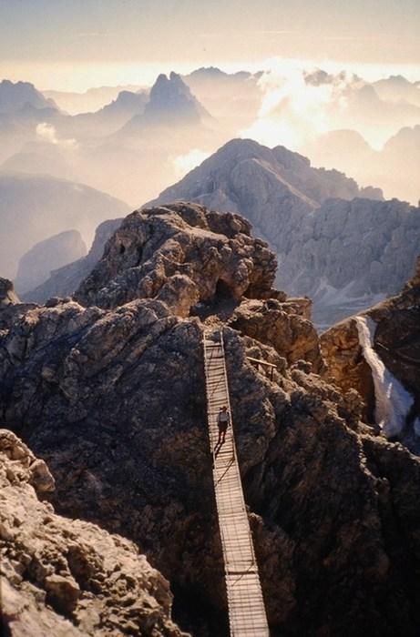 landscape,bridge,mountain,vertigo