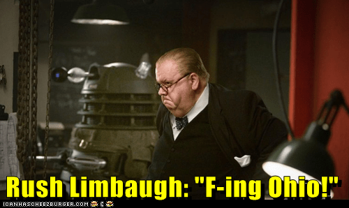 "Rush Limbaugh: ""F-ing Ohio!"""