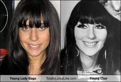 Young Lady Gaga Totally Looks Like Young Cher
