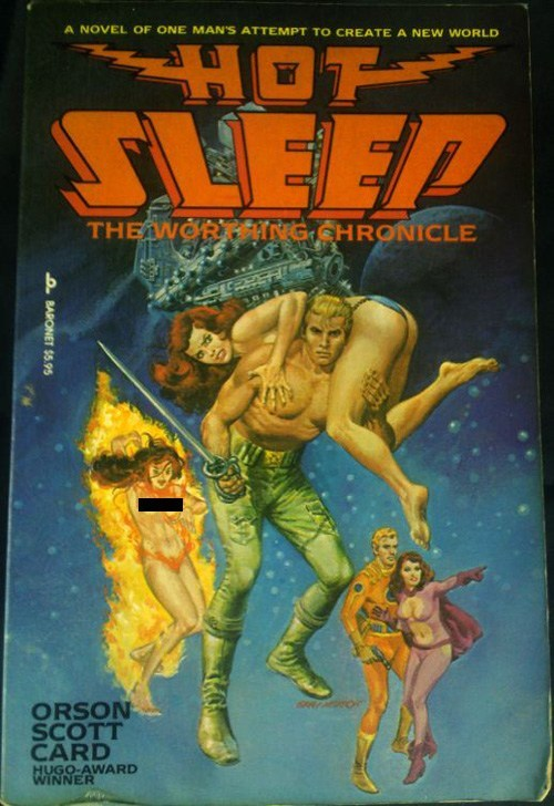 WTF Sci-Fi Book Covers: Hot Sleep
