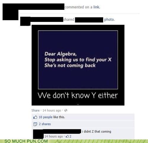 Dear Algebra