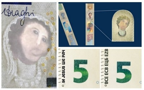 ECB releases the new design for 5 EURO note!
