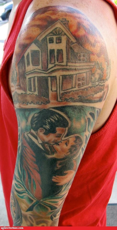 Frankly My Dear, This Tattoo is Damn Ugly