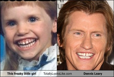 This Freaky Little Girl Totally Looks Like Dennis Leary