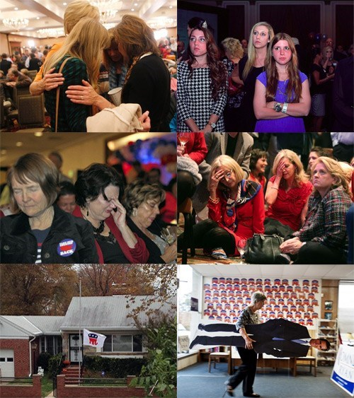 White People Mourning Romney