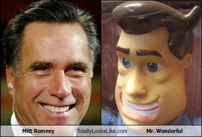 Mitt Romney Totally Looks Like Mr. Wonoderful