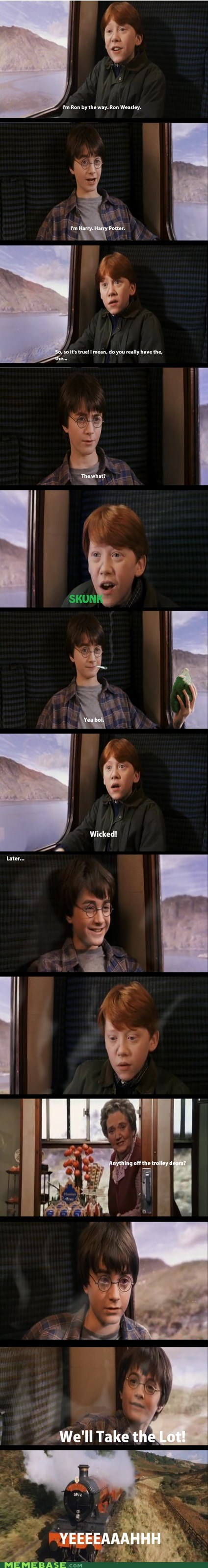 The Truth Behind Harry Potter