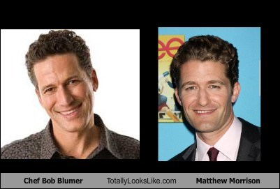 Chef Bob Blumer Totally Looks Like Matthew Morrison