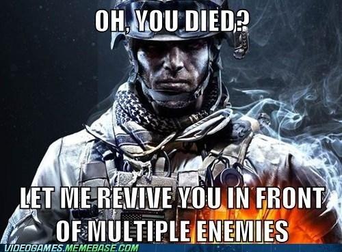 medic,Multiplayer,Battlefield 3,video game logic