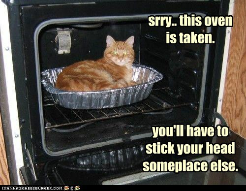 srry.. this oven is taken.