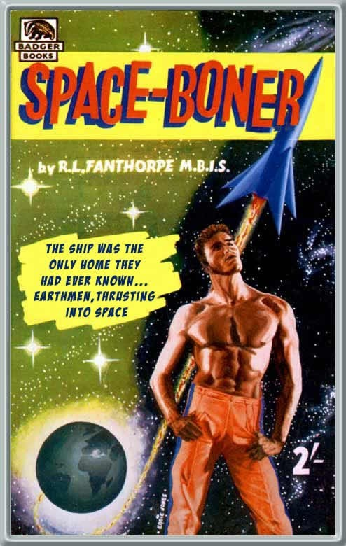 WTF Sci-Fi Book Covers: Space-Boner