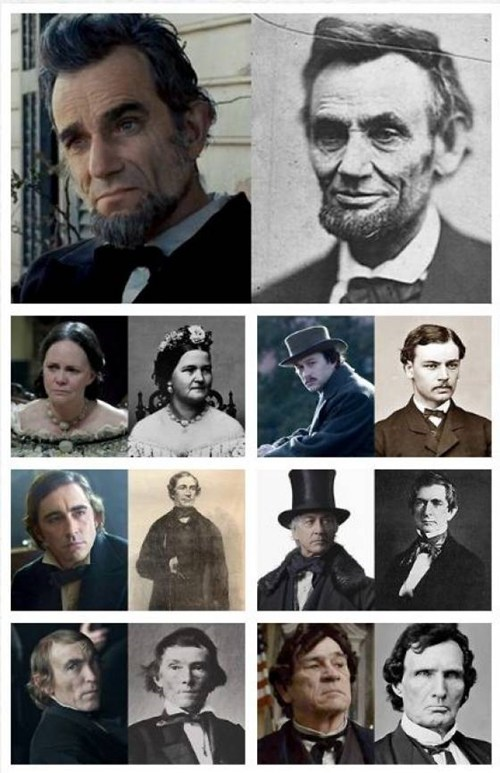 "Compare Every ""Lincoln"" Cast Member to His or Her Real-Life Counterpart"