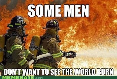 firemen,as the world burns,fire,some men,billy joel's field day
