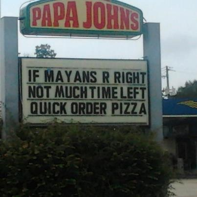 pizza,apocalypse,papa johns