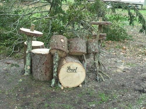 Music,design,cute,wood,drum set,drums