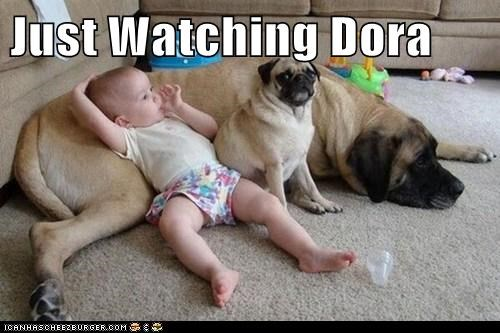 Just Watching Dora