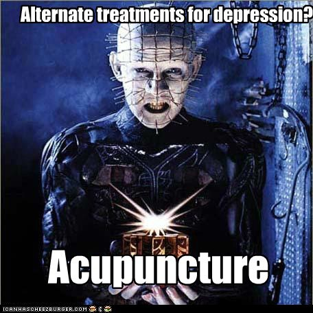 Alternate treatments for depression?