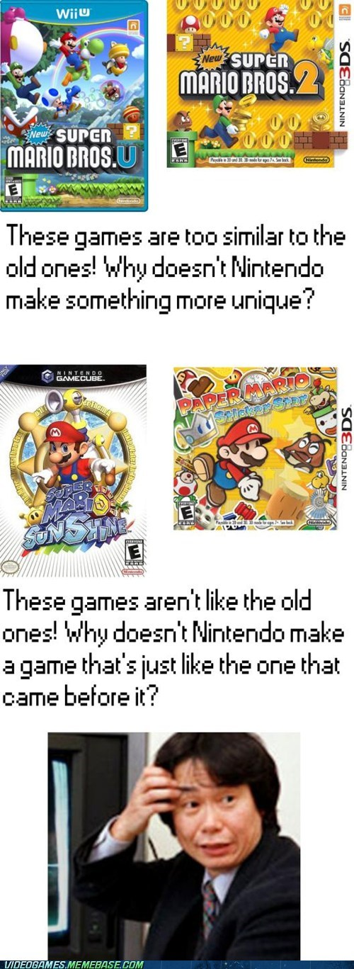 The Mario Paradox