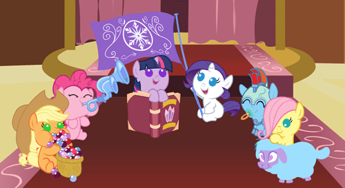 Saving the Crystal Empire Through Cuteness