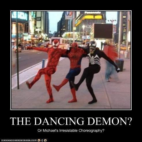 THE DANCING DEMON?