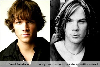 Jared Padalecki Totally Looks Like Christopher Hall (Stabbing Westward)