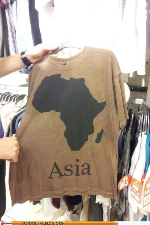 Geography FAIL