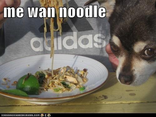 me wan noodle