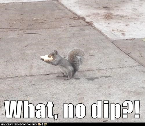 What, no dip?!