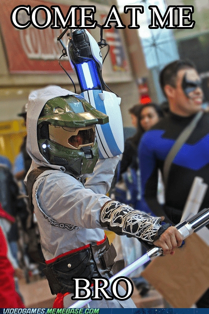 cosplay,star wars,halo,assassins creed,Portal,come at me