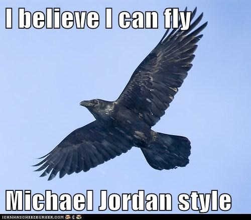 I believe I can fly  Michael Jordan style
