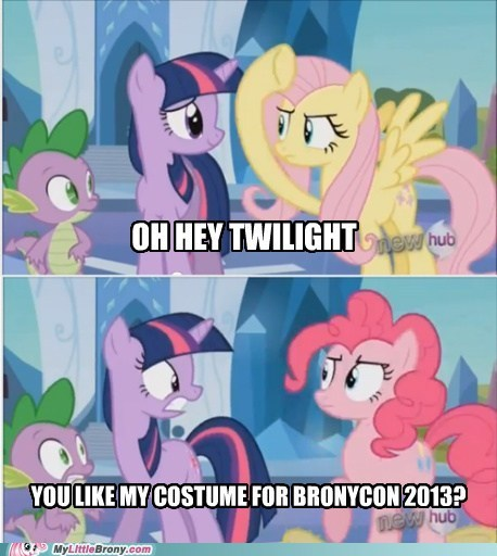 Pinkie Pie Has the Best Costumes... Wonder What She Wore to Nightmare Night This Year?