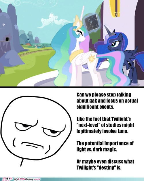 Serious Brony is Serious