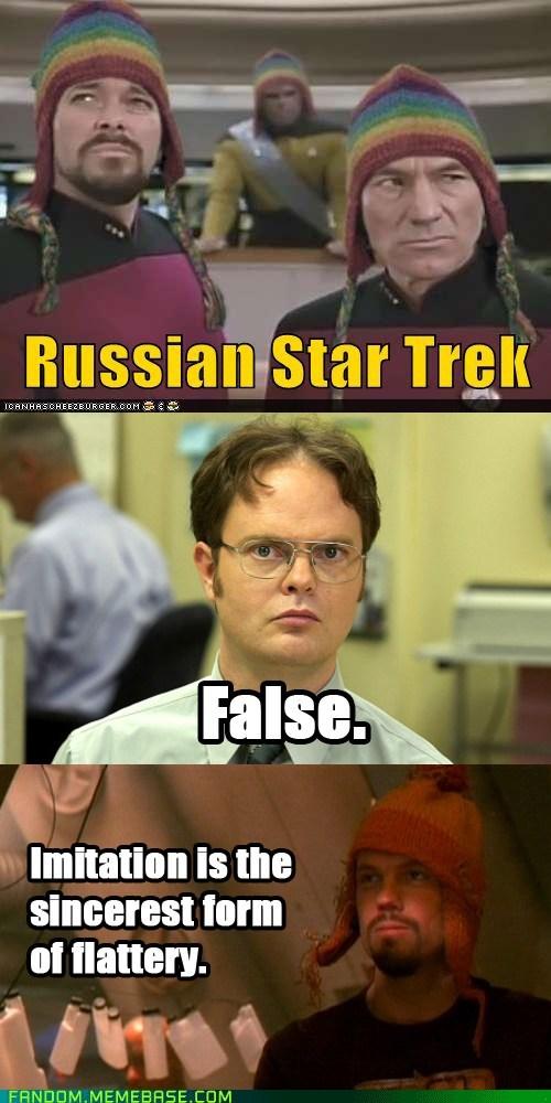jayne cobb,schrute facts,Firefly,Star Trek