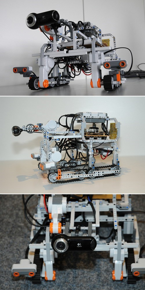 ISS Astronaut Test Drives a LEGO-built Earth Rover via Interplanetary Internet!