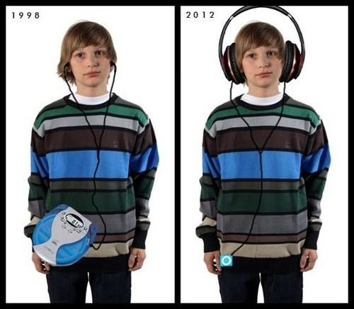 music player,the vs now,headphones