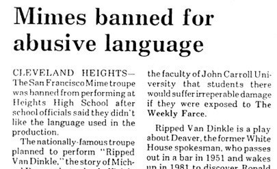 news,headline,what,mimes,Probably bad News
