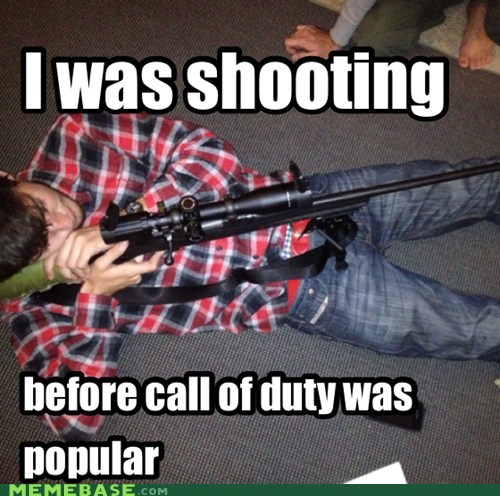 hipsters can shoot too