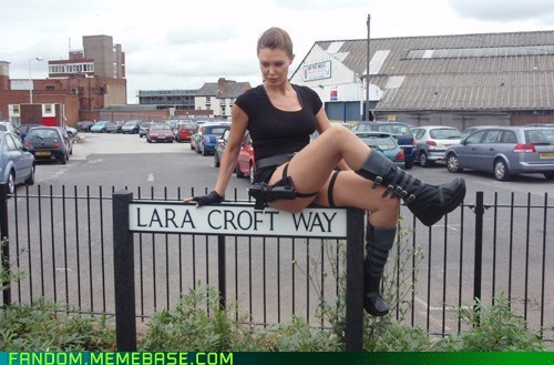 Tomb Raider Lane