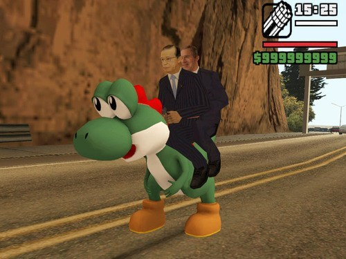 No Time to Explain, Get on the Yoshi