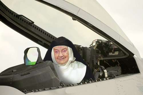 Air Force Nun