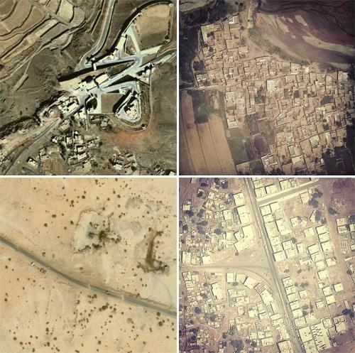 Drone Surveillance Images + Instagram Filters = Dronestagram