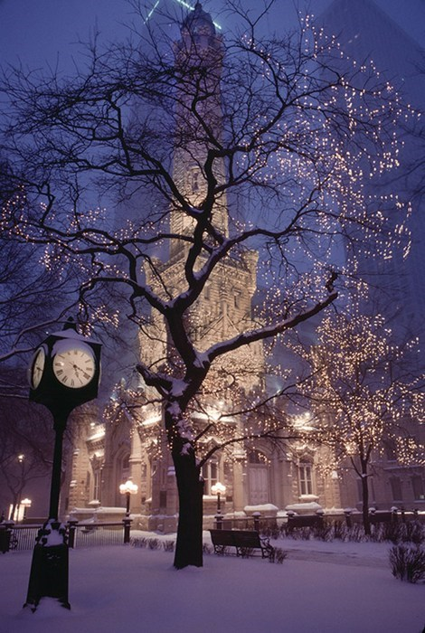 snow,city,cityscape,park,winter
